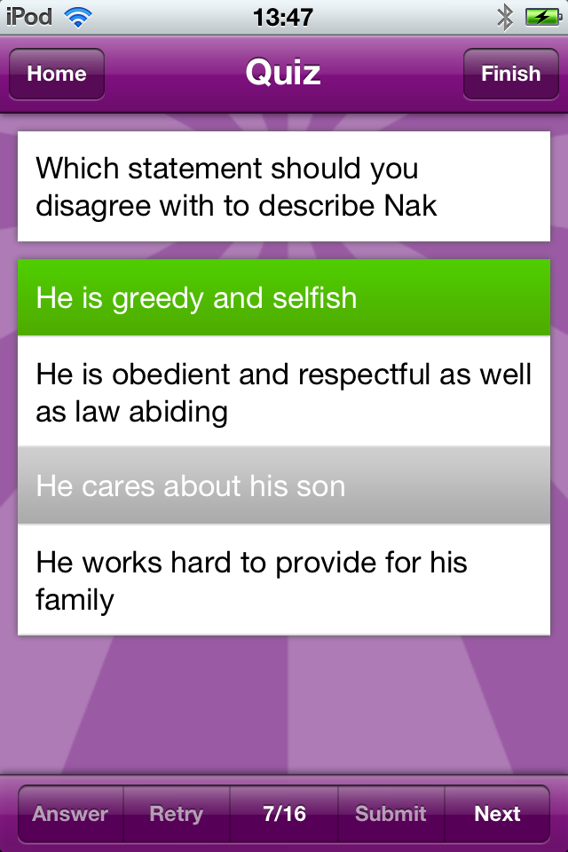 I Am Learning: GCSE English Literature App - 5