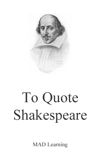 To Quote Shakespeare Pro-1
