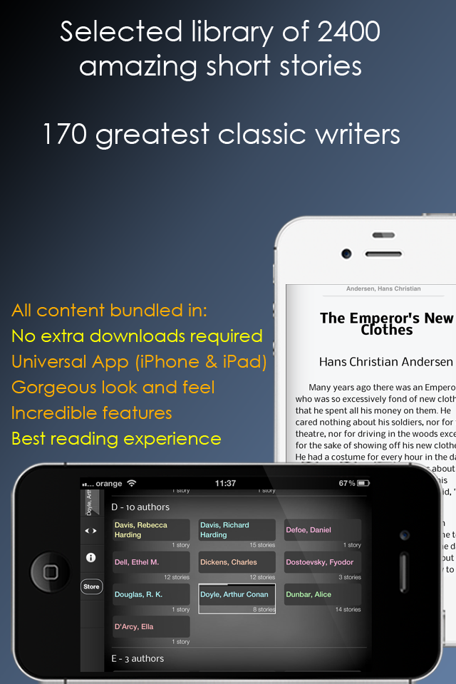 Colossal Short Stories Collection App - 1
