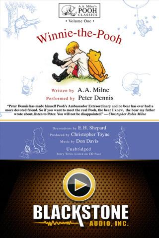 Winnie-the-Pooh (by A.A. Milne) App - 1