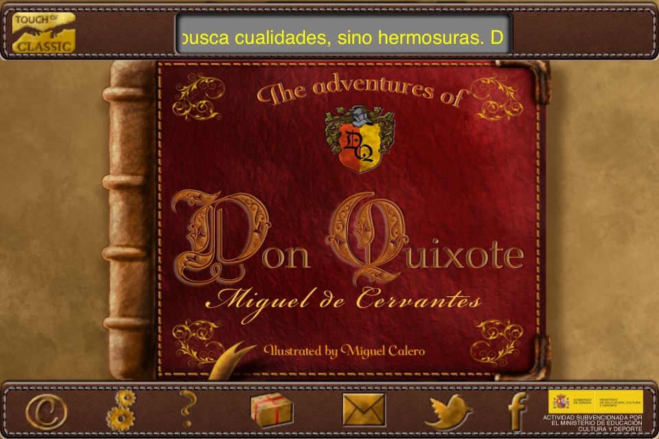 The Adventures of Don Quixote by Touch of Classic-1