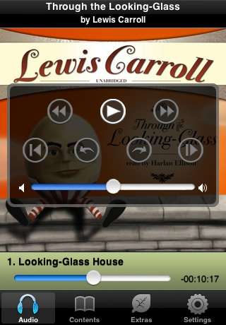 Through the Looking-Glass (by Lewis Carroll) (UNABRIDGED AUDIOBOOK) : Blackstone Audio Apps : Folium Edition-2