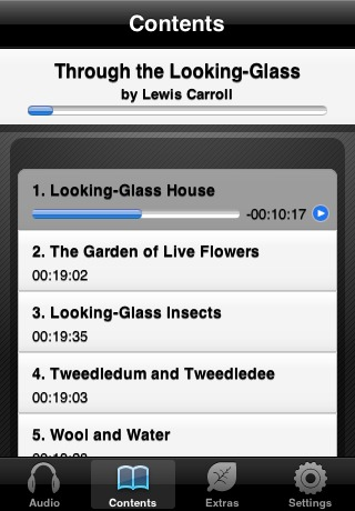 Through the Looking-Glass (by Lewis Carroll) (UNABRIDGED AUDIOBOOK) : Blackstone Audio Apps : Folium Edition-3