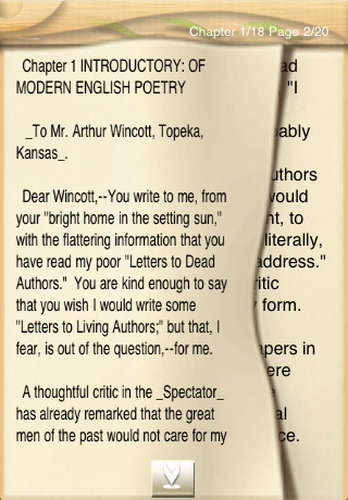 Letters on Literature, by Andrew Lang-2