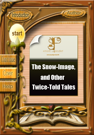 The Snow-Image, and Other Twice-Told Tales, by Nathaniel Hawthorne-1
