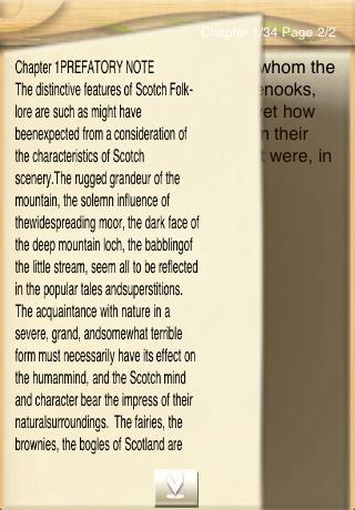 Folk-Lore and Legends Scotland App - 2