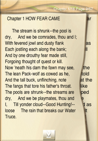 The Second Jungle Book, Rudyard Kipling App - 2