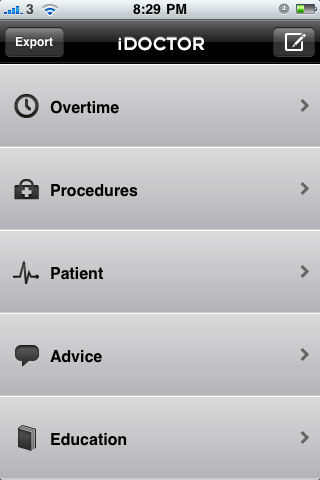iDoctor - Medical Logbook App - 1
