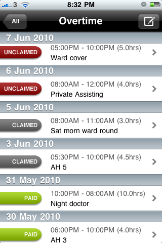 iDoctor - Medical Logbook App - 2