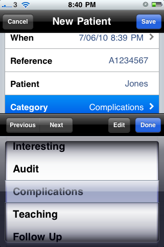 iDoctor - Medical Logbook-3