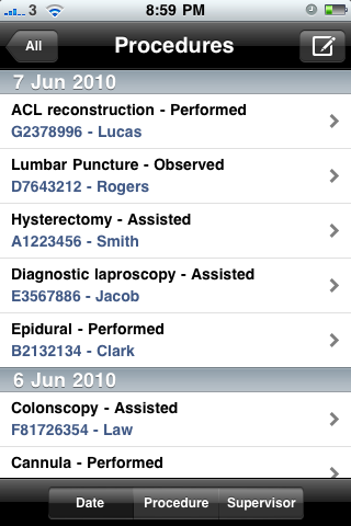 iDoctor - Medical Logbook App - 5