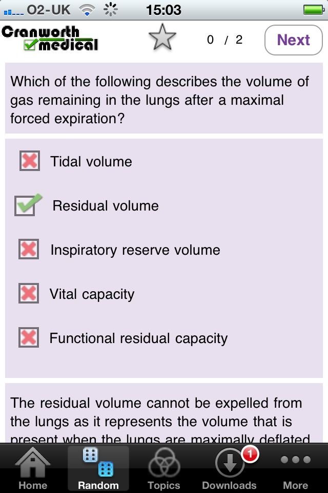 Clinical Sciences – Respiratory