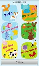 Baby first words: Animals App - 3
