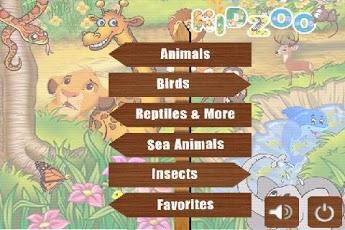 Kids Zoo Animal Sounds & Photos App - 1