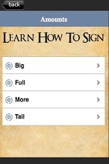 How To Sign Language Volume 1 App - 3