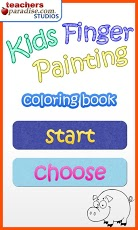 Kids Finger Painting Art Game App - 1