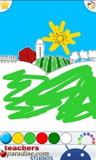 Kids Finger Painting Art Game App - 6