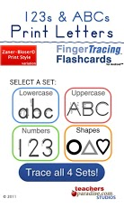 123s ABCs Handwriting Fun SET1 App - 1