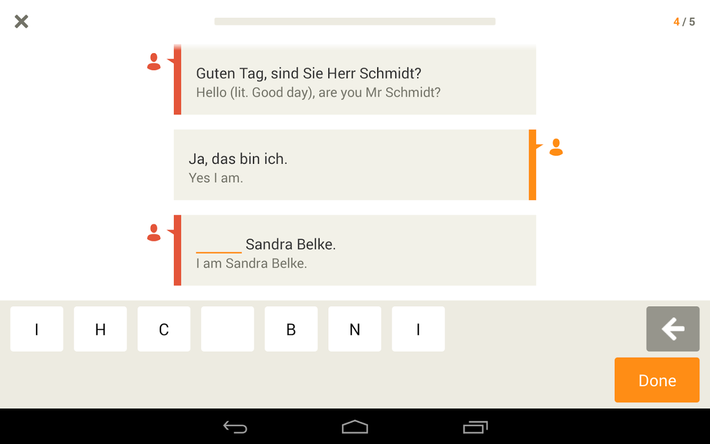 Learn German with Babbel App - 12