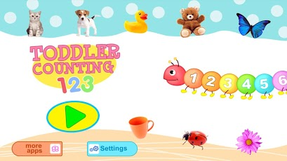 Toddler Counting 123 Kids Free App - 1