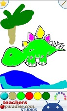 Dinosaurs Coloring Book-5