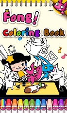 Wow! Coloring Book