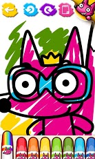 Wow! Coloring Book-3