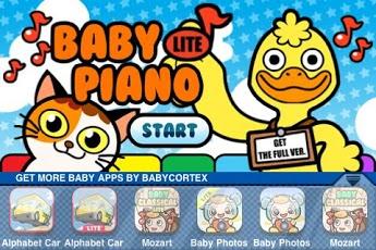 Baby Piano Lite App - 1