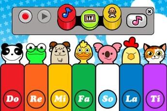 Baby Piano Lite App - 3