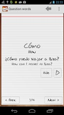 Learn Spanish with Flashcards App - 5