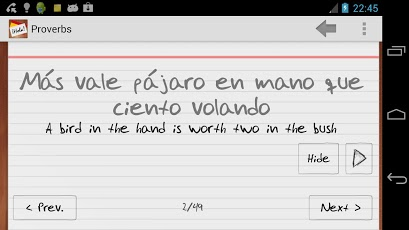 Learn Spanish with Flashcards App - 6