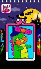 Boo! Monster Coloring Book-2