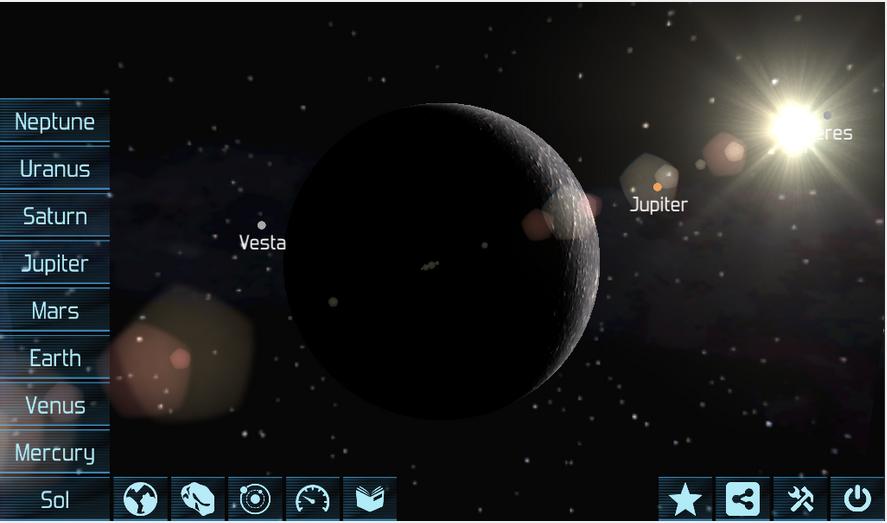 Solar System Explorer Lite-3