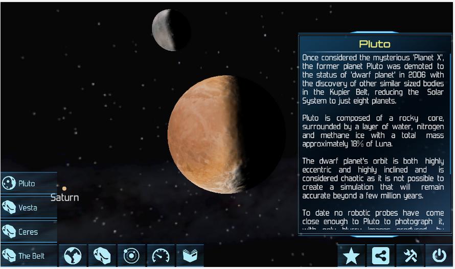 Solar System Explorer Lite