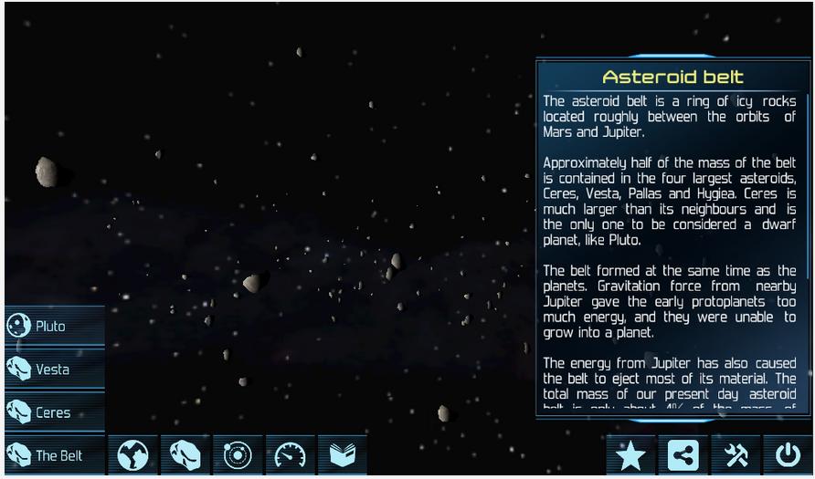 Solar System Explorer Lite App - 5