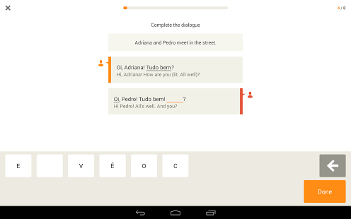 Learn Portuguese with Babbel App - 3