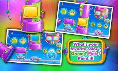 Rainbow Cars: Kids Colors Game-4