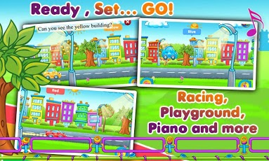 Rainbow Cars: Kids Colors Game App - 6