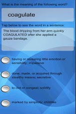 Virtual SAT Tutor - Vocabulary App - 1