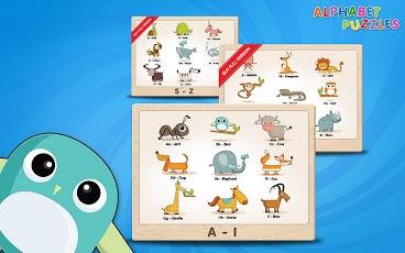 Kids ABC Alphabet Puzzles Lite-3