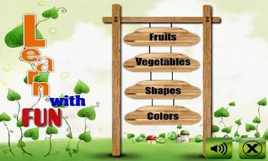 Fruit shape color veg for kids-1