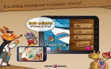 Pinocchio - Animated storybook App - 1