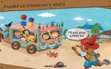 Pinocchio - Animated storybook App - 2