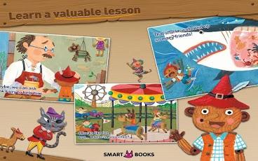 Pinocchio - Animated storybook App - 3