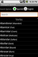 Conjugate Spanish Verbs App - 5