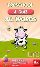 Preschool All Words 3 Lite-1
