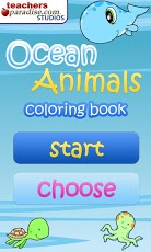 Ocean Animals Coloring Book App - 1