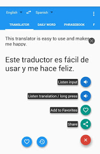 Talking Translator /Dictionary App - 1