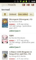 Goodreads App - 1
