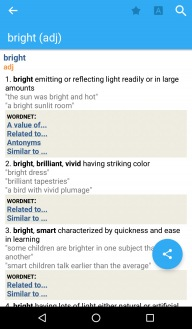 Advanced English & Thesaurus App - 1